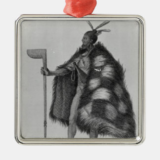 A New Zealand warrior Christmas Ornament