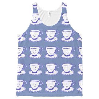 A nice cup of tea All-Over print tank top