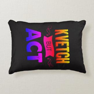 A nice, sensible, reversable decorative cushion