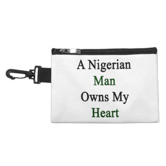 A Nigerian Man Owns My Heart Accessory Bags