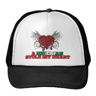 A Nigerian Stole my Heart Trucker Hat