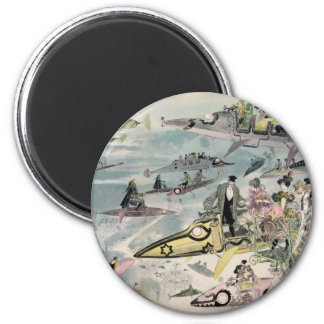 A Night at the Opera in the Year 2000 - 1882 6 Cm Round Magnet