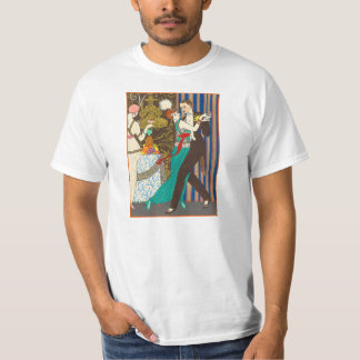 A Night in Decadent Paris Art Deco T-shirt