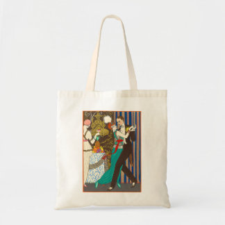 A Night in Decadent Paris Art Deco Tote Bag