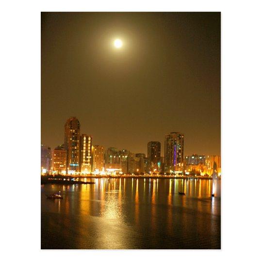 A Night in Dubai Postcard