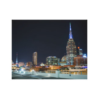 A night in Nashville Gallery Wrap Canvas