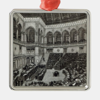 A night sitting in the Italian Chamber of Christmas Ornament