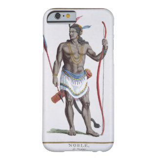 A Noble from Virginia, 1780 (coloured engraving) Barely There iPhone 6 Case