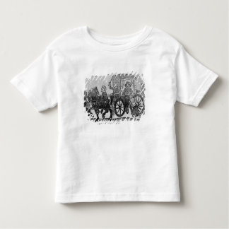 A nobleman in his carriage toddler T-Shirt