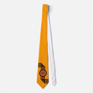A Nod to Art Deco Tie