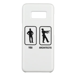A Normal You Versus an Architect Zombie Case-Mate Samsung Galaxy S8 Case