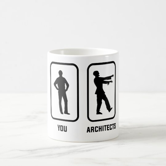 A Normal You Versus an Architect Zombie Coffee