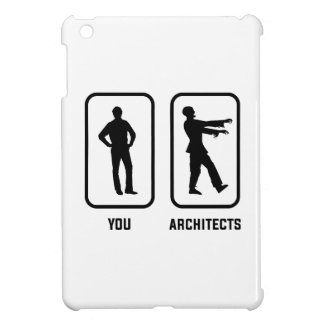 A Normal You Versus an Architect Zombie iPad Mini Cases