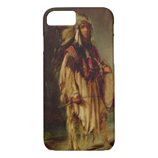A North American Indian in an Extensive Landscape, iPhone 7 Case