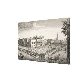 A North West View of the Summer Palace of Her Impe Canvas Print
