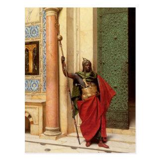 A Nubian Guard postcard