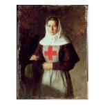 A Nurse, 1886 Post Card