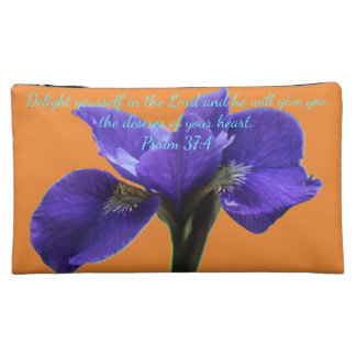 A&O Royal Iris A~Heart Cosmetic Bag