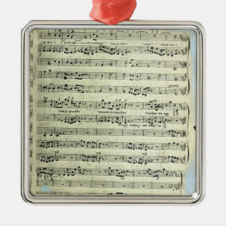 A page from one of the only two copies christmas ornament