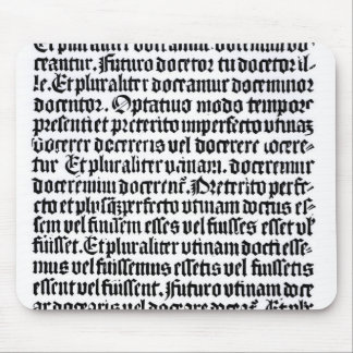 A page of the 'Grammaire Latine' Mouse Pad