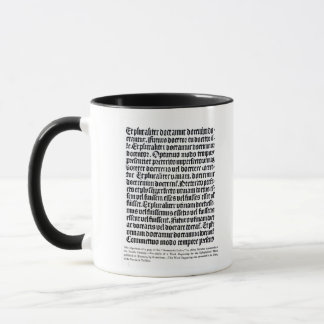 A page of the 'Grammaire Latine' Mug
