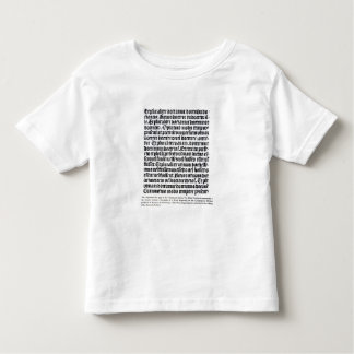 A page of the 'Grammaire Latine' Toddler T-Shirt