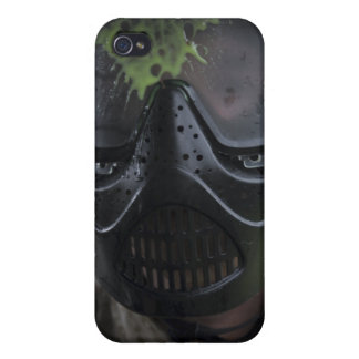 A paintball round cover for iPhone 4