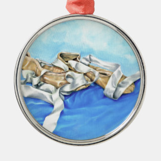 A Pair of Ballet Shoes Christmas Ornament