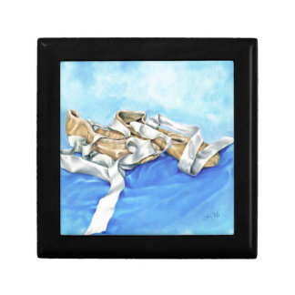 A Pair of Ballet Shoes Small Square Gift Box
