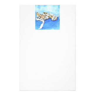 A Pair of Ballet Shoes Stationery