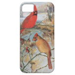 A Pair of Cardinals iPhone 5 Covers