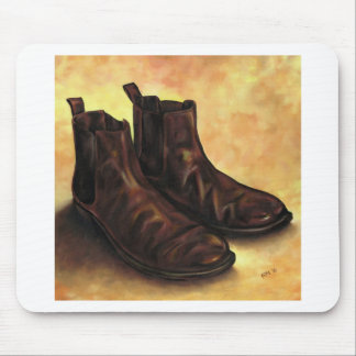 A Pair of Chelsea Boots Mouse Pad