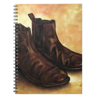 A Pair of Chelsea Boots Notebook