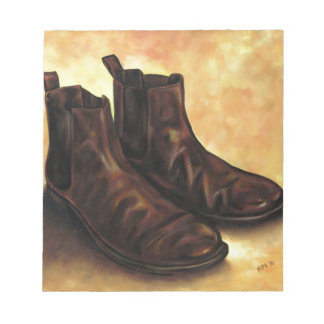 A Pair of Chelsea Boots Notepads