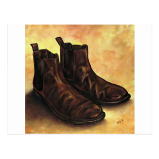 A Pair of Chelsea Boots Postcard