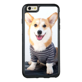 A Pair Of Corgis Sitting On A Bench OtterBox iPhone 6/6s Plus Case