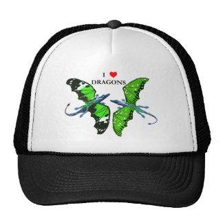 a pair of dragons cap
