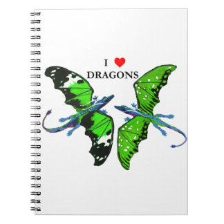 A Pair of Dragons Notebooks