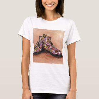 A Pair of Favourite Floral Boots T-Shirt