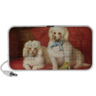 A Pair of Poodles Mp3 Speakers