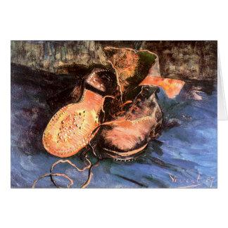 A Pair of Shoes, Vincent Van Gogh Cards