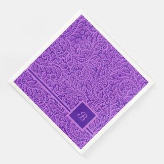 A Paisley Swirl 5 Paper Napkin