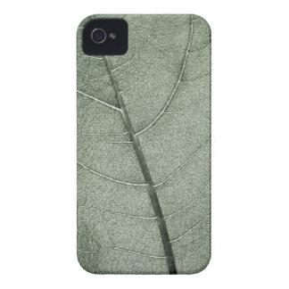 A pale green leaf, close up. pattern iPhone 4 case