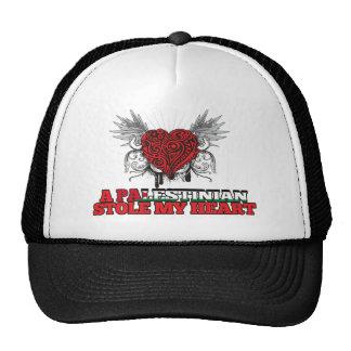 A Palestinian Stole my Heart Trucker Hats