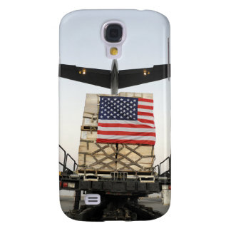 A pallet containing humanitarian relief supplie galaxy s4 case