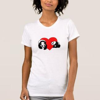 A Panda Love Tee Shirt