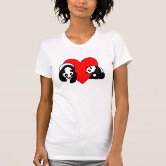 A Panda Love Tee Shirts
