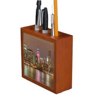 A panorama of the New York City skyline Desk Organiser