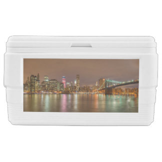 A panorama of the New York City skyline Ice Chest