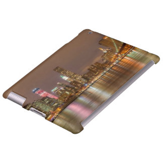 A panorama of the New York City skyline iPad Case